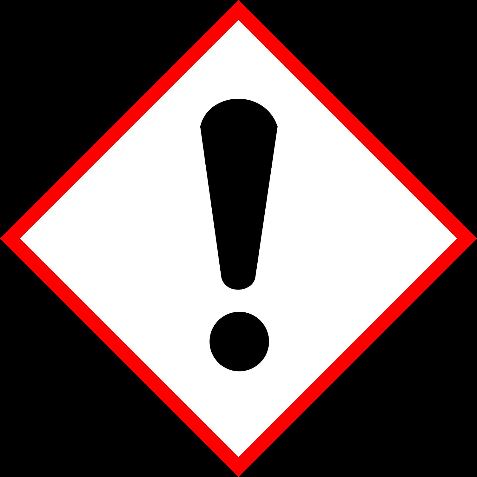 Hazard symbols oxidising