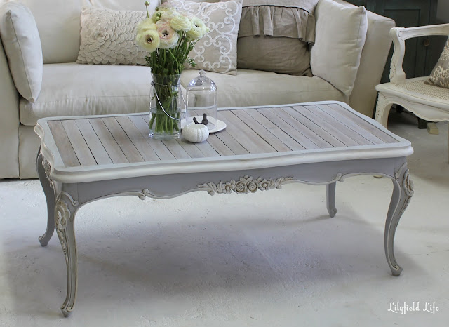 Lilyfield life French Provincial coffee table for sale, sydney : Vintage second hand furniture