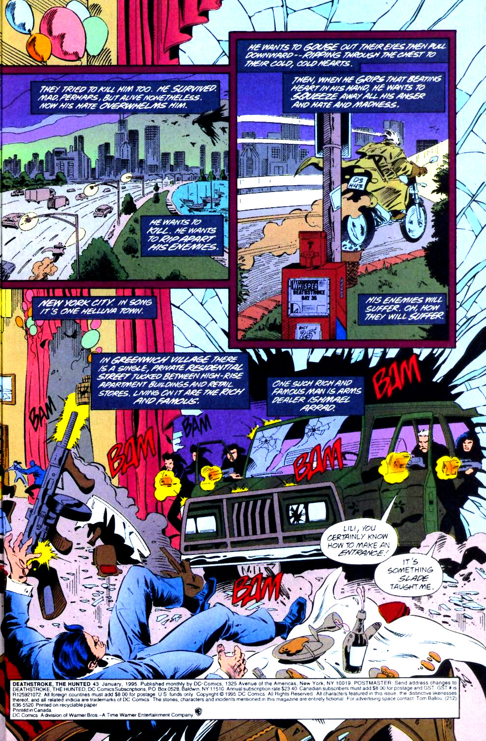 Deathstroke (1991) Issue #43 #48 - English 4