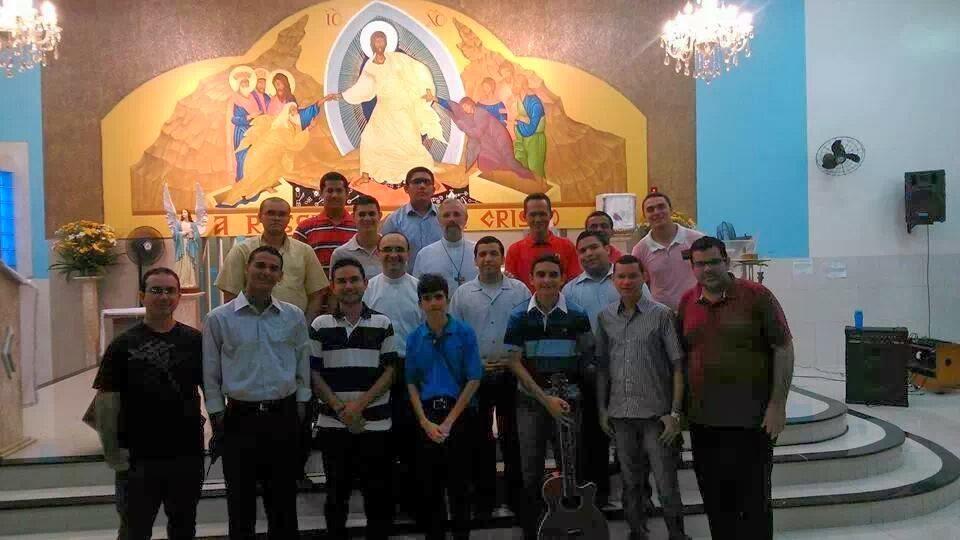Seminário Propedêutico, acolhe do Armando bispo de Bacabal - MA.