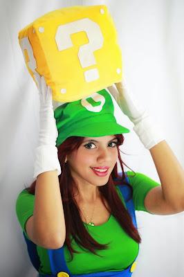 Tutorial Roupa Feminina de Super Mario