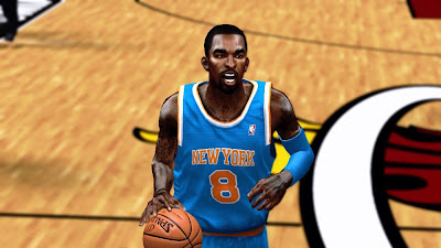 NBA 2K13 J. R. Smith Face NBA2K Patch