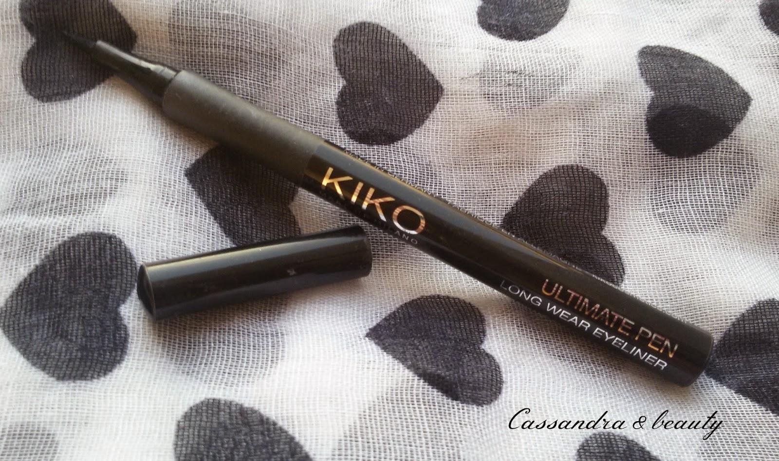 EYELINER KIKO: swatch e recensione del Precision eyeliner e dell'Ultimate Pen longwear eyeliner