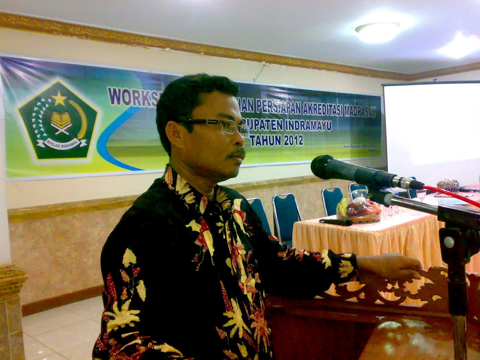 kegiatan workshop pembekalan persiapan akreditasi 2012