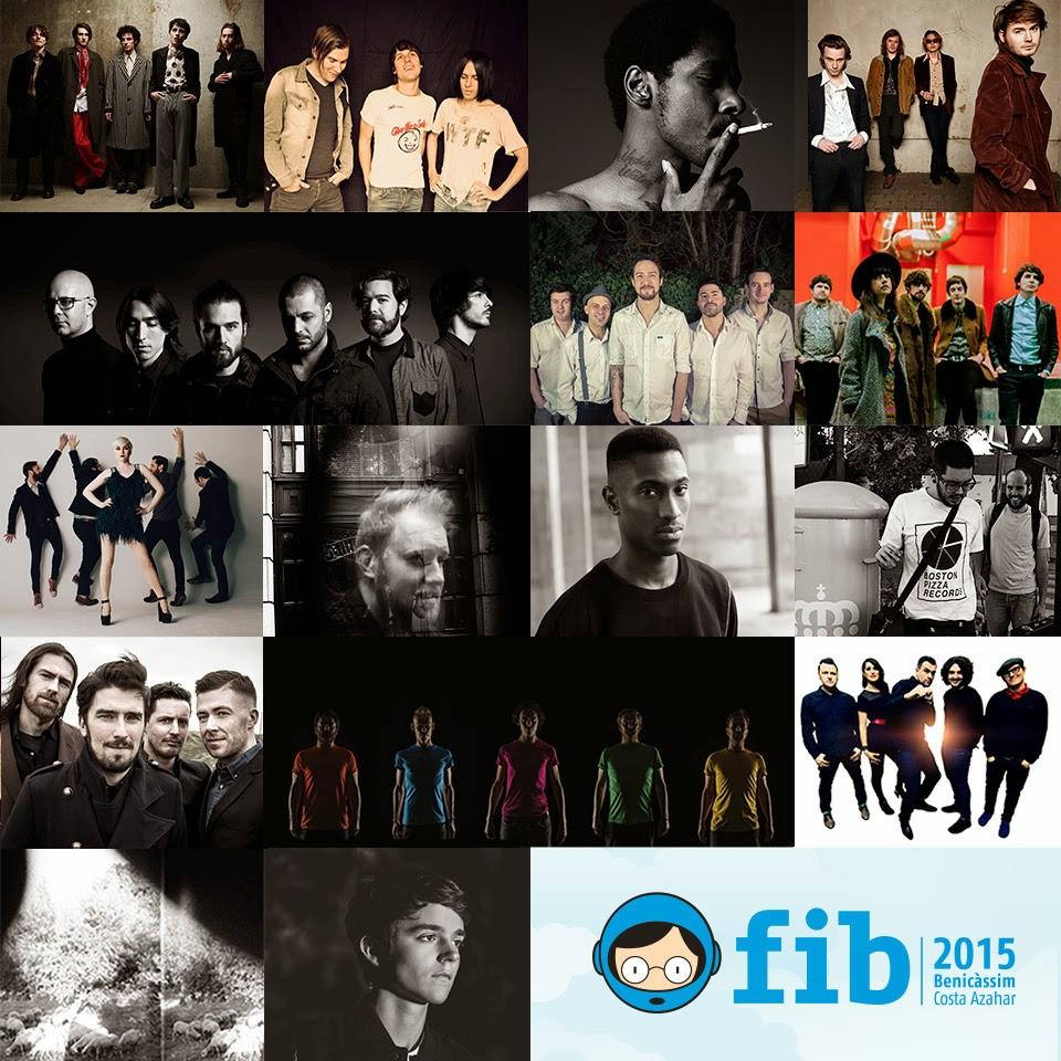 Benicassim 2015 Line-Up