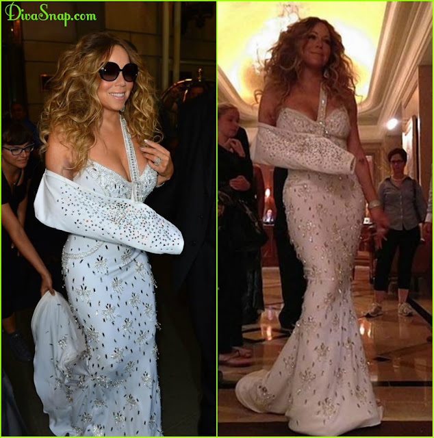 MARIAH CAREY PUT THE SLING SO ELEGANTLY IN THE FASHION GAME - DivaSnap.com