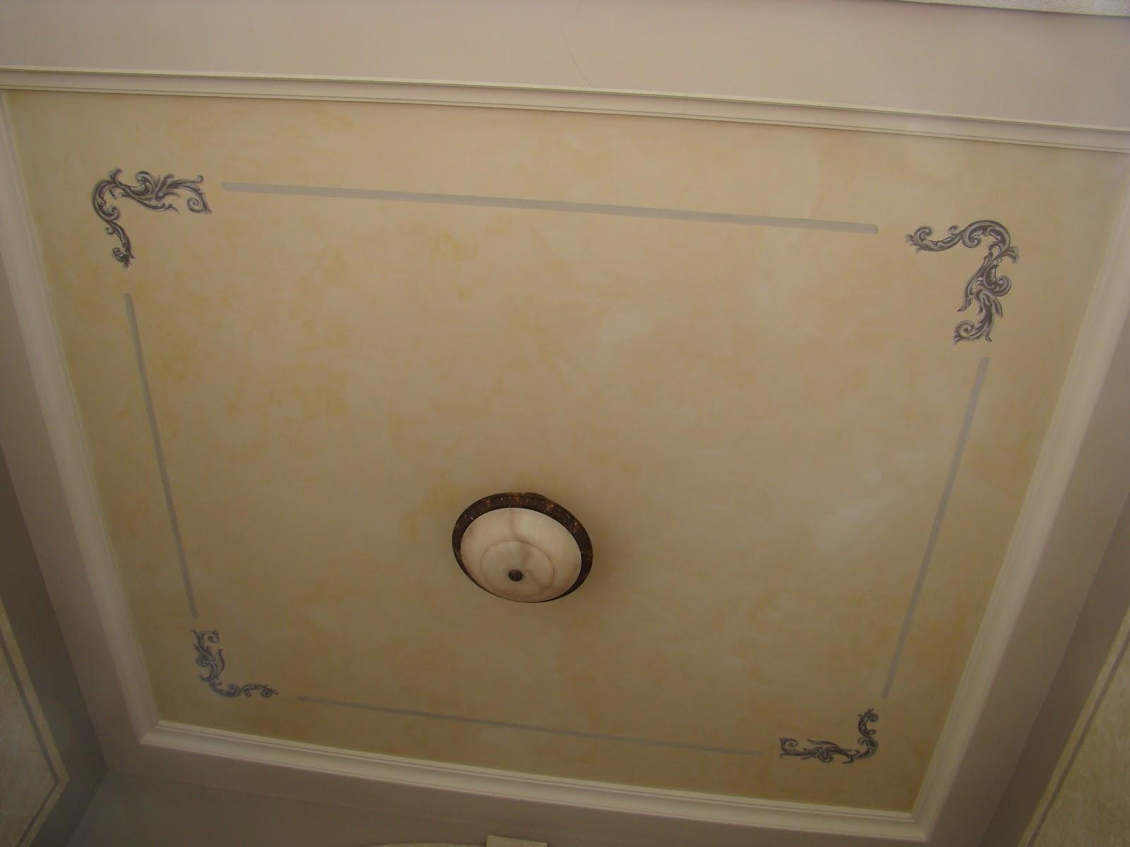 Gregodecor paredes y techos decorados for Techos decorados