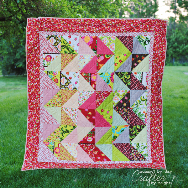 Mommy by day Crafter by night: Zig Zag Quilt Along : zig zag quilt - Adamdwight.com