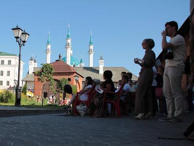 Зрители на концерте Российского рогового оркестра