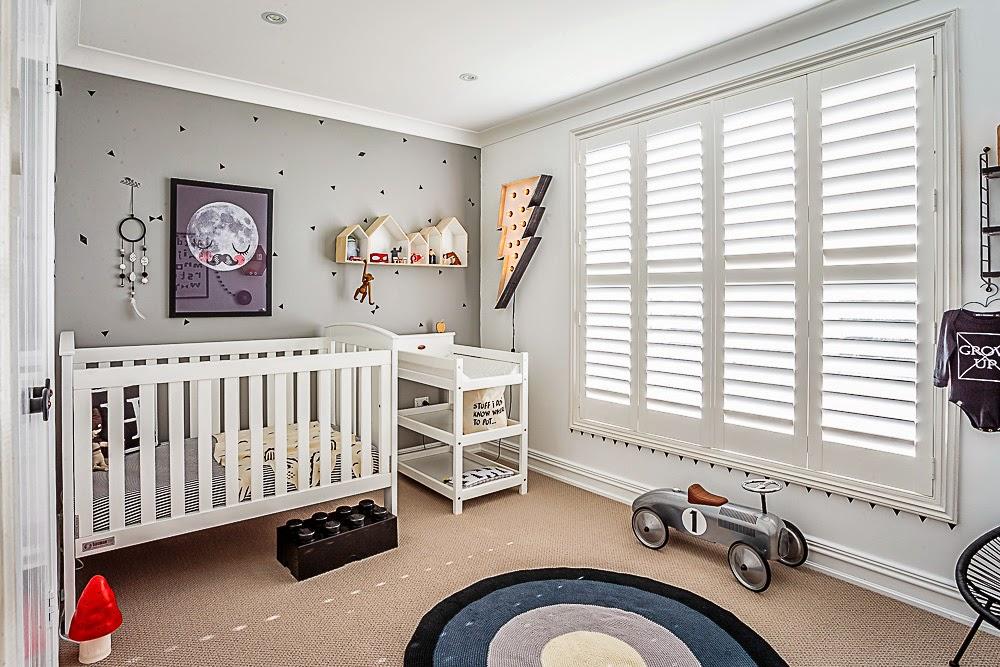 Puerta al sur habitaciones infantiles con encanto for Alfombras cuarto bebe