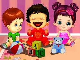 Bebek Bakımevi Merkezi İşlet Oyunları