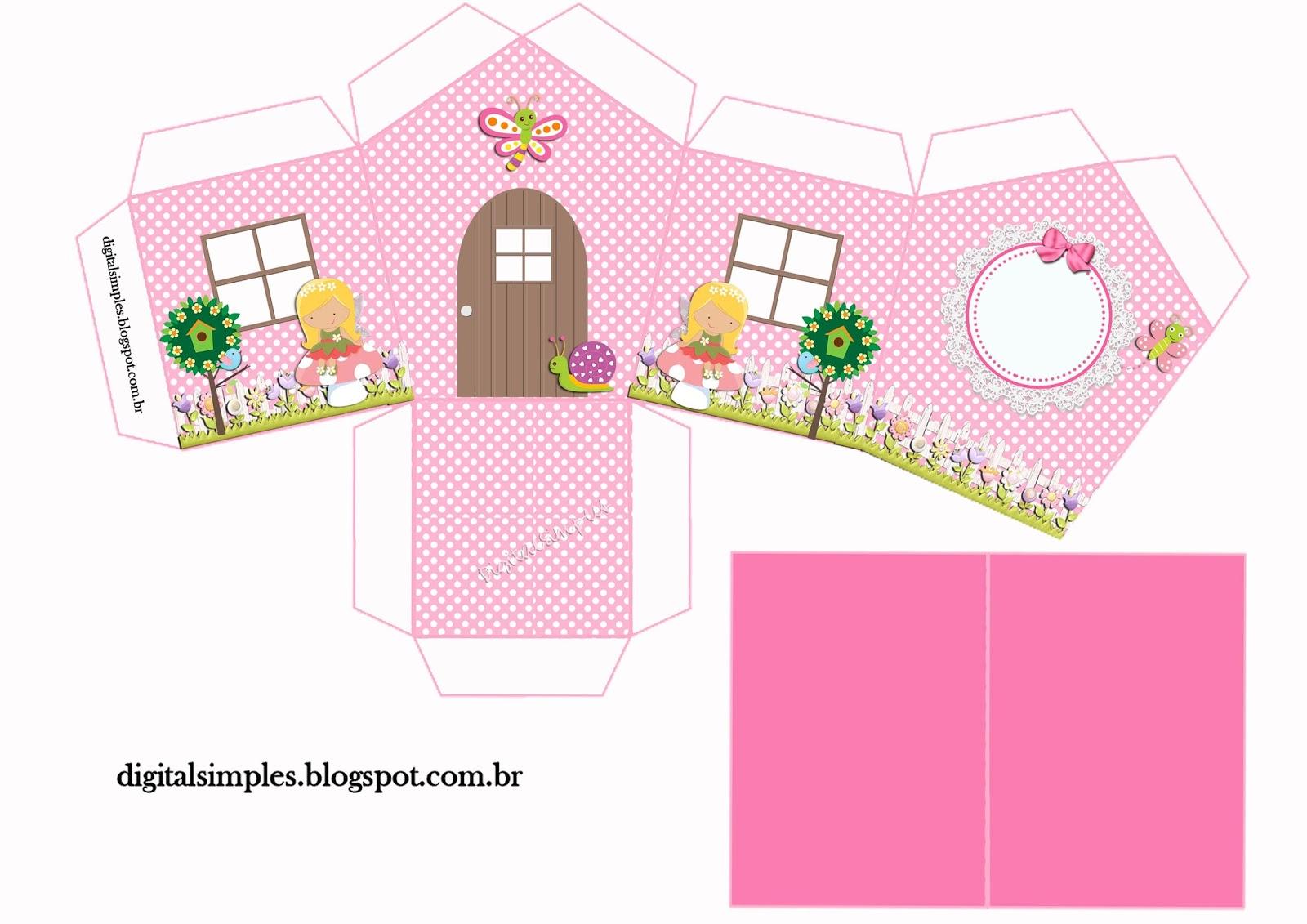 Jardim Encantado para Imprimir  Convites Digitais Simples