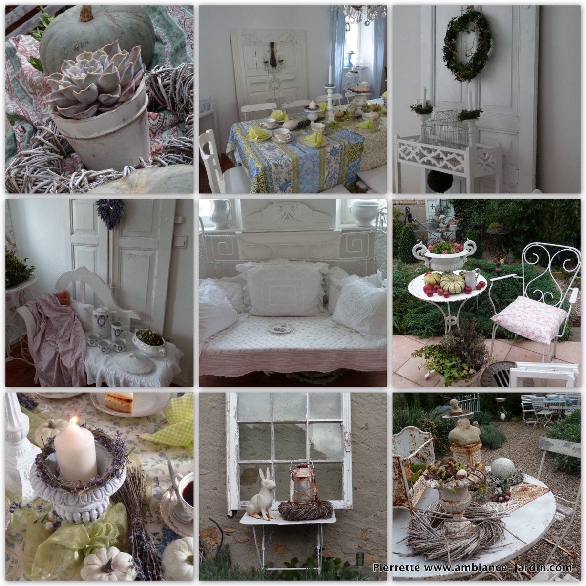 D co jardin shabby for Deco shabby campagne