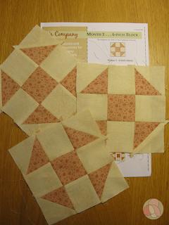 bloque quilt 3's Company Thimbleberries