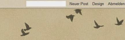 Wasserzeichen 1 - Webvorlage - mit Vögeln