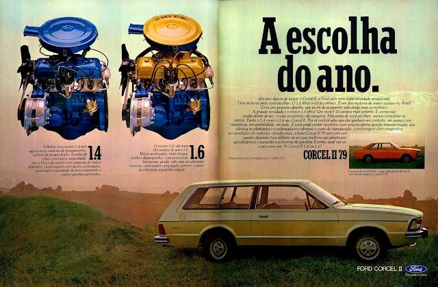 propaganda Ford Corcel II - 1978