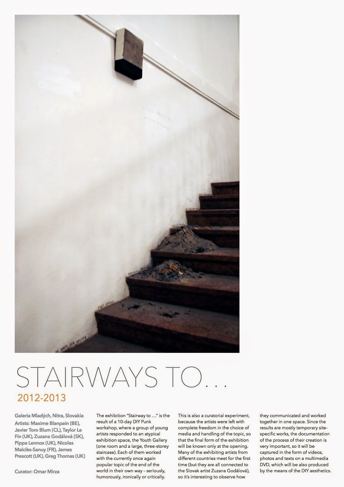 Stairways to...