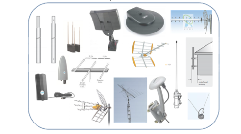 What type of receiving antenna will be required for Doordarshan DVB-T2 or DVB-T Signals?