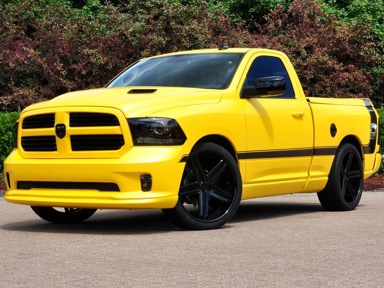 all cars nz 2013 dodge ram 1500 rumble bee concept. Black Bedroom Furniture Sets. Home Design Ideas
