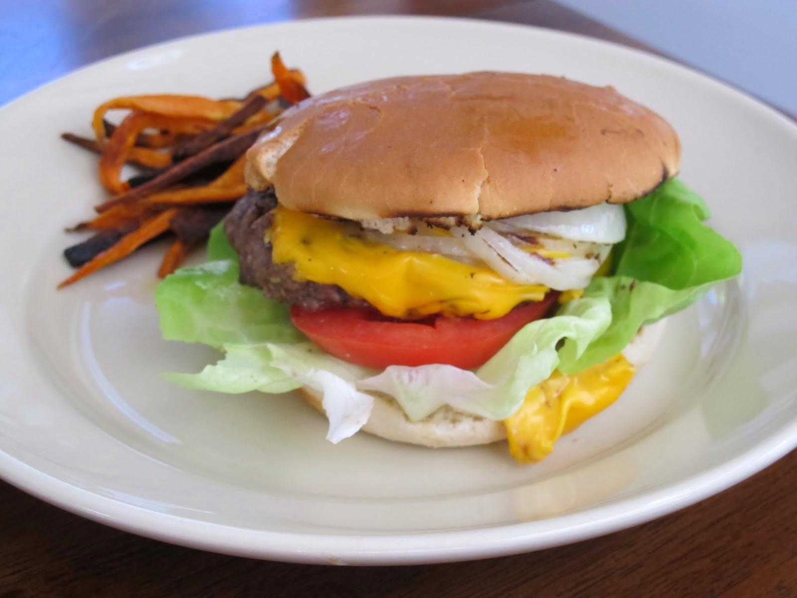 Classic American Cheeseburgers