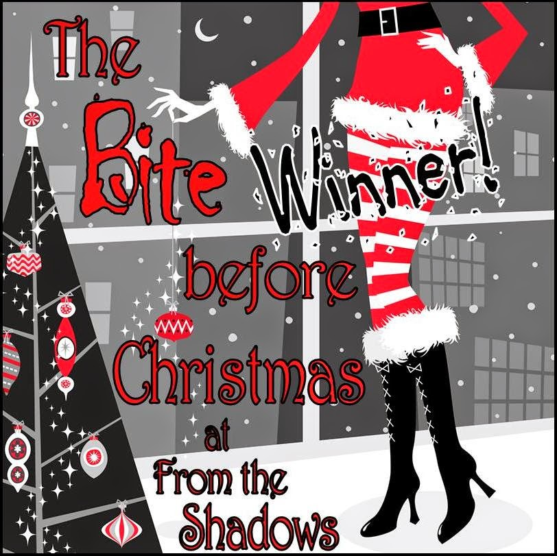 The Bite Before Christmas Giveaway Winner of Blood and Mistletoe holiday urban fantasy novella