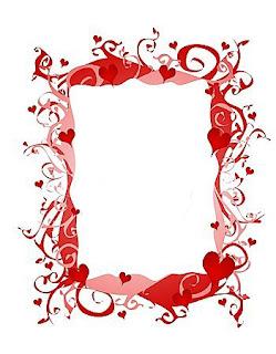 Corazones san valentin para imprimir