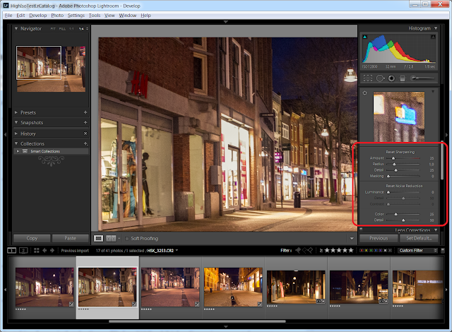 Lightroom Sharpness and Noise Reduction
