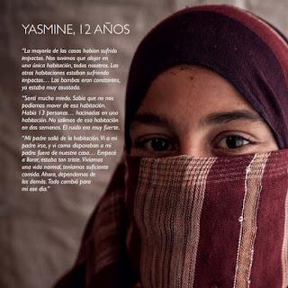 Niños bajo las balas. Siria. Save the Children. Abuelohara.
