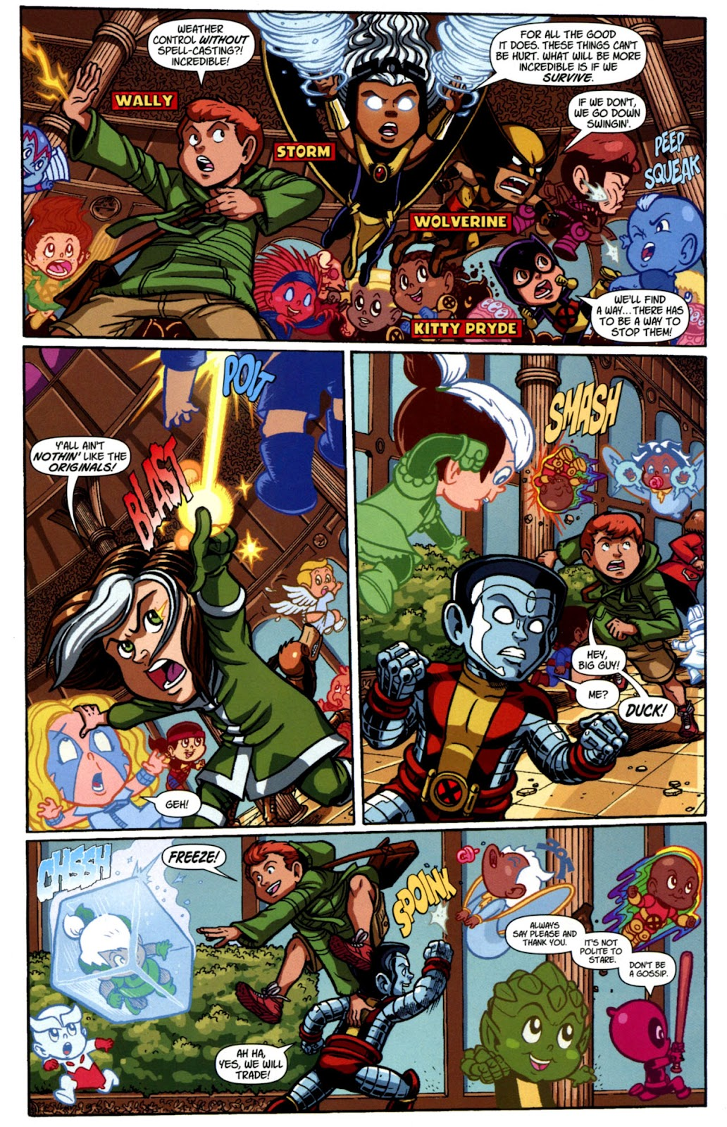 Read online X-Babies comic -  Issue #4 - 7