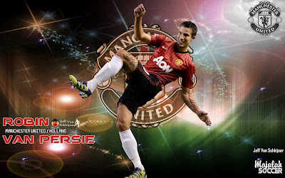 Wallpapers Robin Van Persie Manchester United (MU) 2012-2013