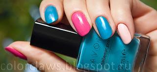 Avon Nailwear Pro Blue Escape