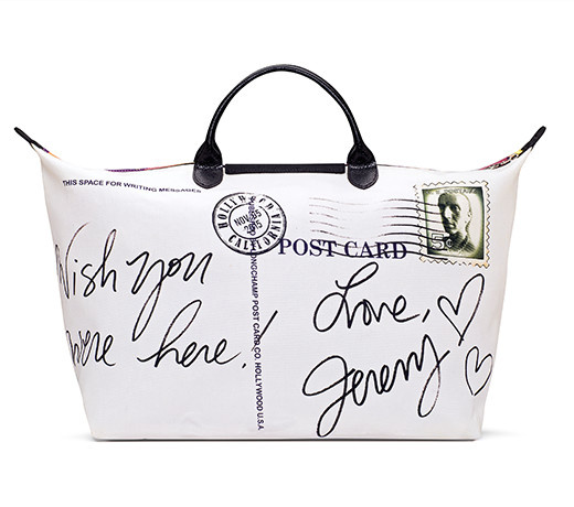 Longchamp-x-Jeremy Scott, jeremy-scott-longchamp, jeremy-scott-le-pliage, longchamp-le-pliage, greetings-from-hollywood, sac-longchamp, sac-le-pliage, longchamps-pliage, lonchamp-sac, longchamp-le-pliage, dudessinauxpodiums, du-dessin-aux-podiums, collaboration-audacieuse, le-sac-edition-limitee