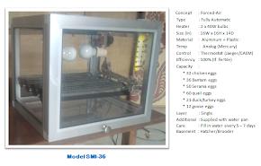 Model Terbaru - Mini Inkubator