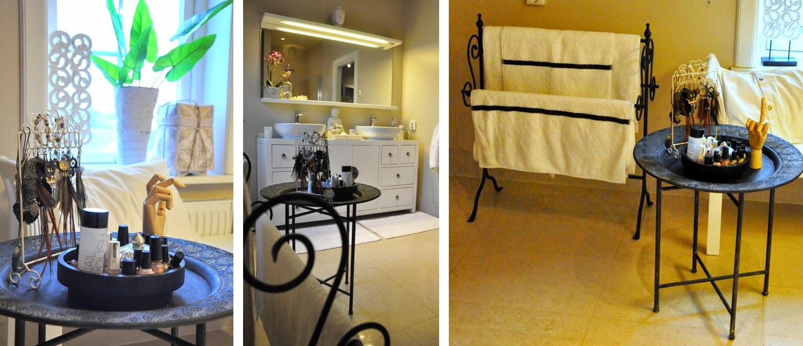 Den vita drömgården: ett vitt badrum i asiatisk stil
