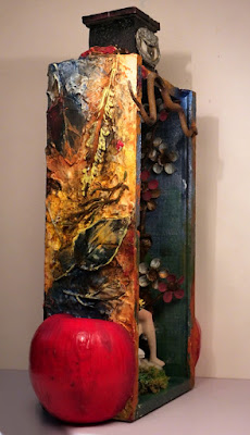 mixed-media, assemblage
