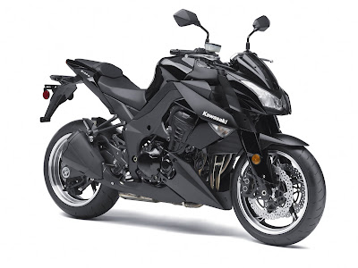 2011 Kawasaki Z1000 Black Color
