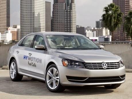 Mobil Hidrogen Volkswagen
