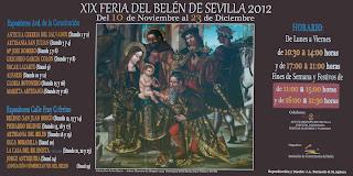 Sevilla - Cartel de la XIX Feria del Belén