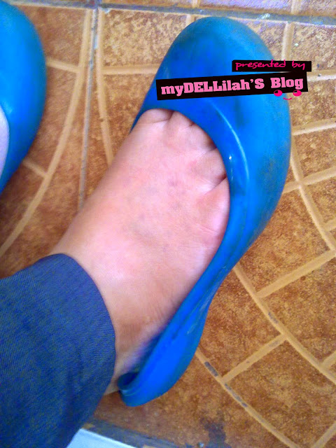 Mencerahkan kulit kaki