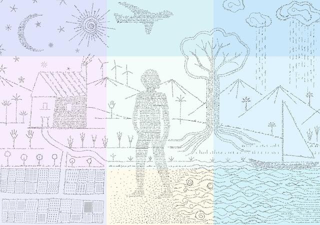natura, cultura, ¿ que es cultura?,campos, composicion, caligrama, museografia