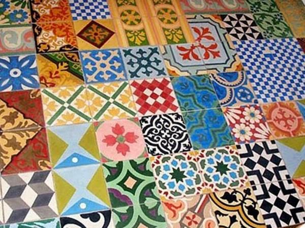 Quadrat patchwork divinos for Mosaicos para pisos precios