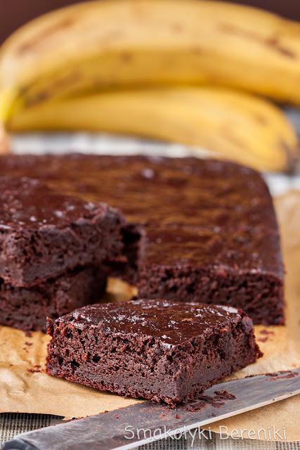 Brownie z dodatkiem banana