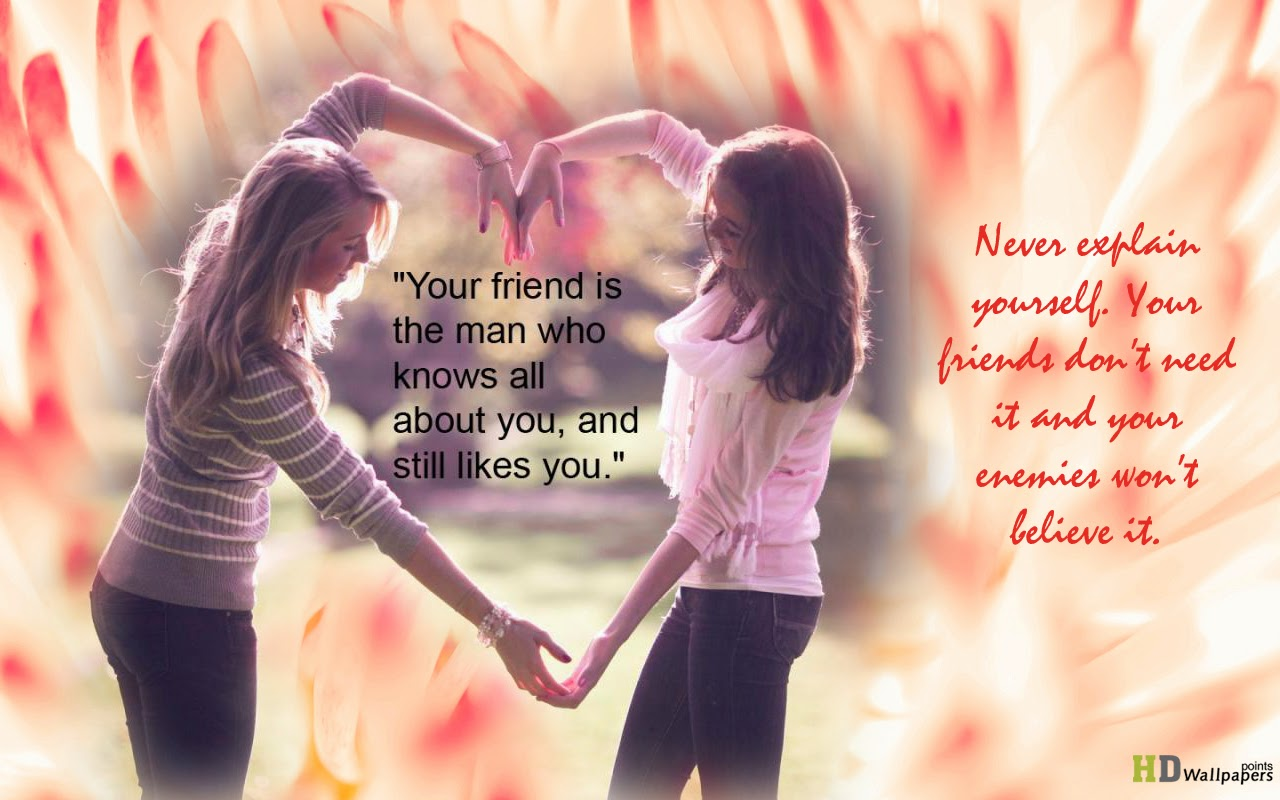 Beautiful Quotes Friendship Pictures With Quotes For Girls
