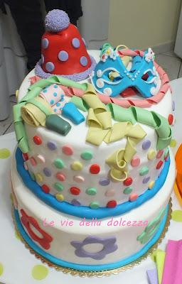 Cake-design carnevale