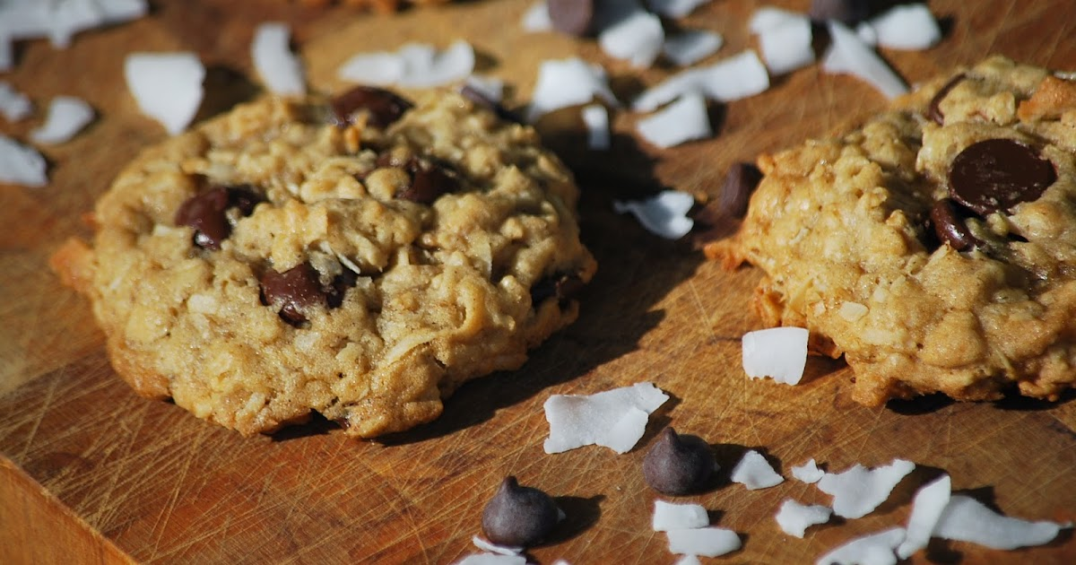 My story in recipes: Dark Chocolate Coconut Oatmeal Cookies