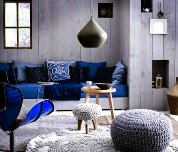 Living room color schemes 20 green blue color combinations - Grey and blue living room furniture ...