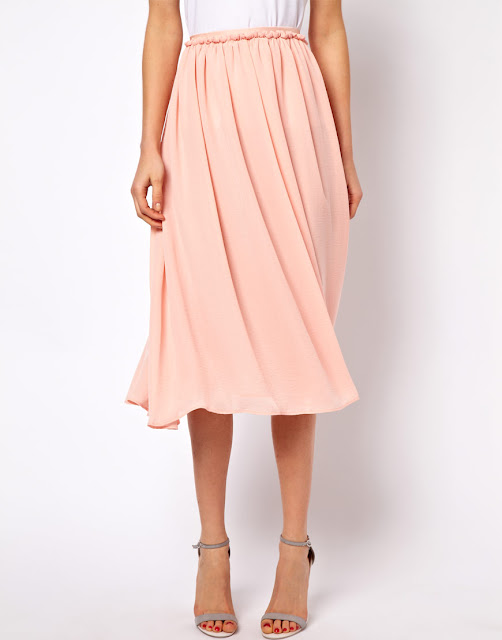 mango full skirt