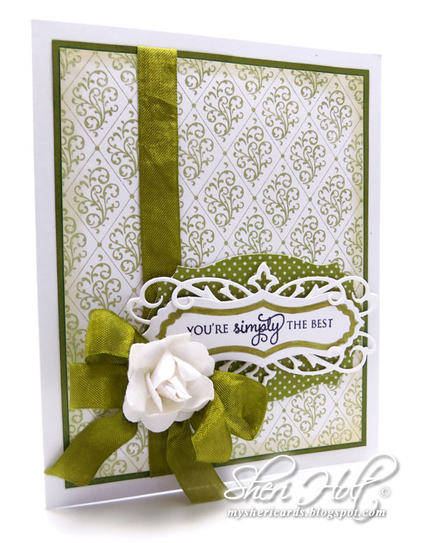 ... background cling stamp and happy occasion belly band two clear stamps