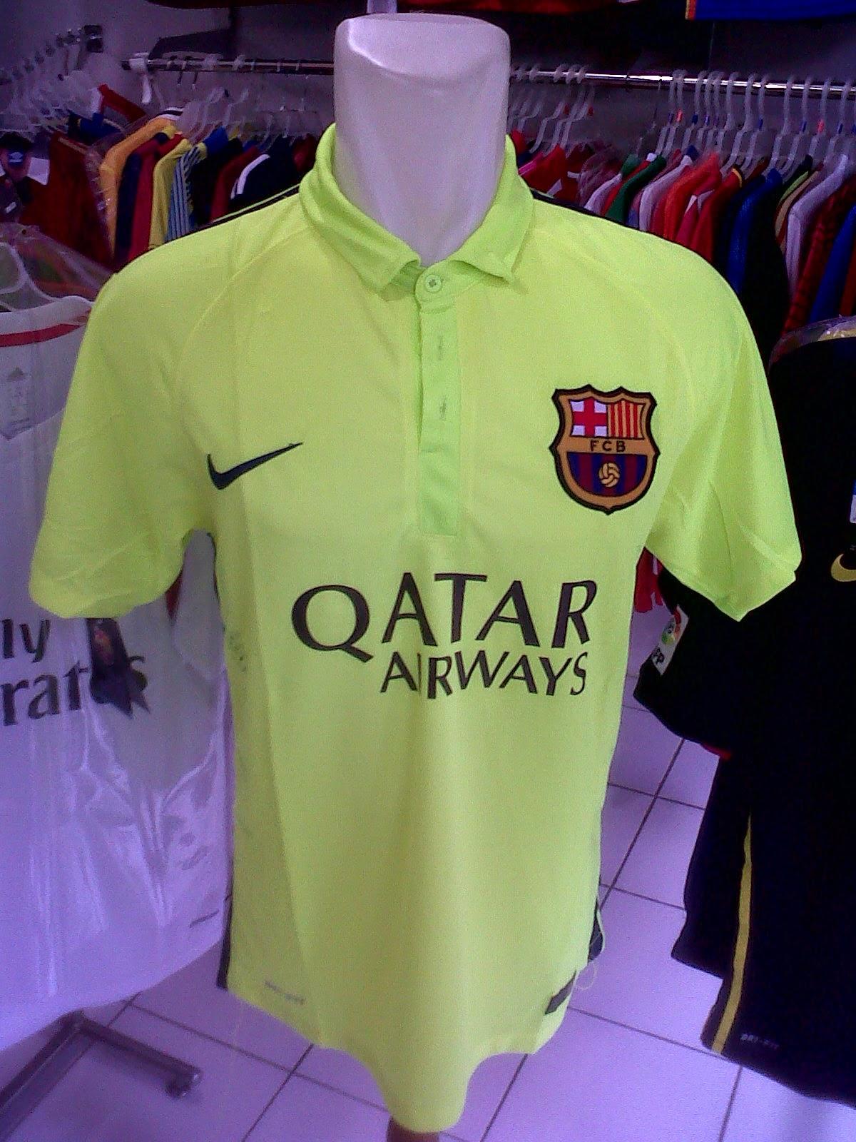 Jersey Barcelona 3rd 2014/2015