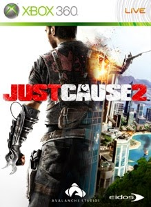 cover xbox360 du jeu just cause 2